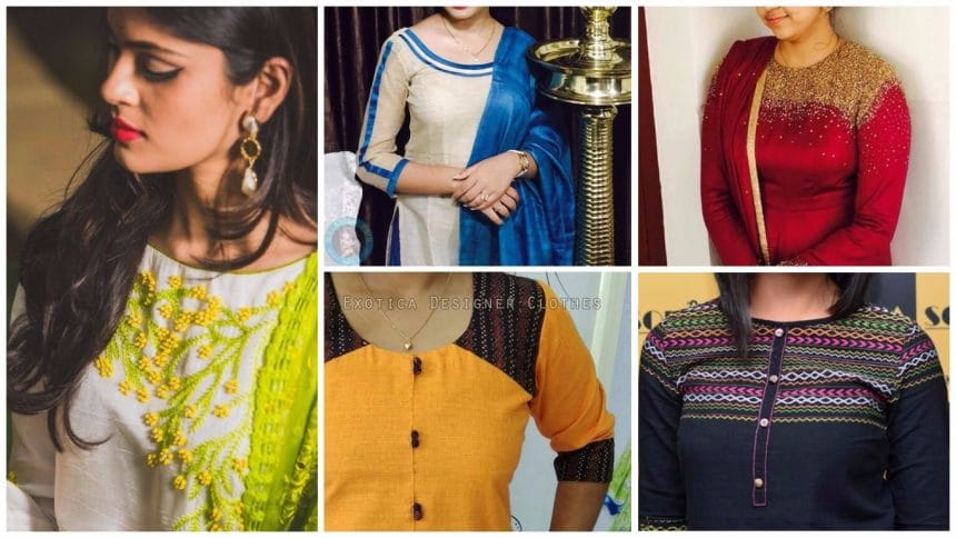 Different types of kurtis design