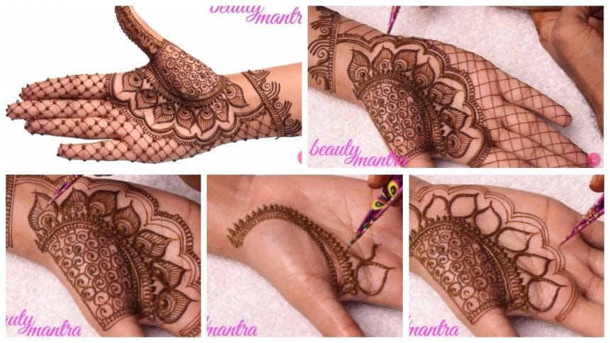 How to simple mehndi design