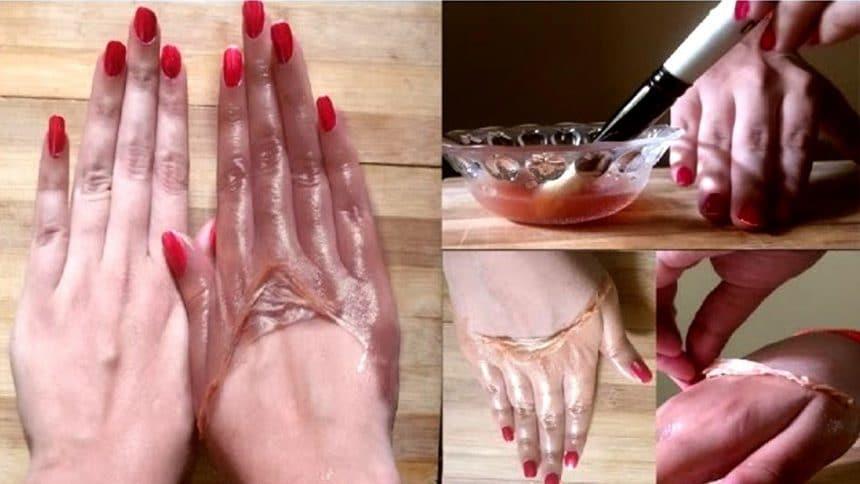 Skin whitening lemon tomato peel mask
