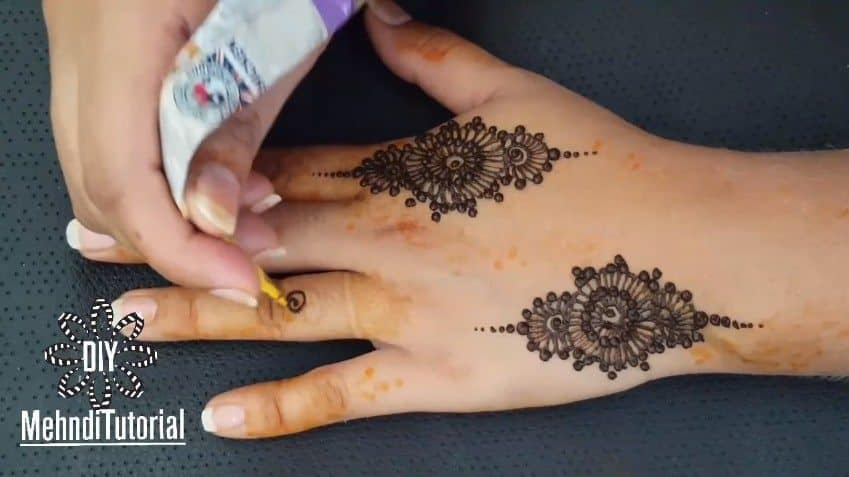 Easy Mehndi Tutorial : Quick and easy mehndi design tutorial simple craft ideas