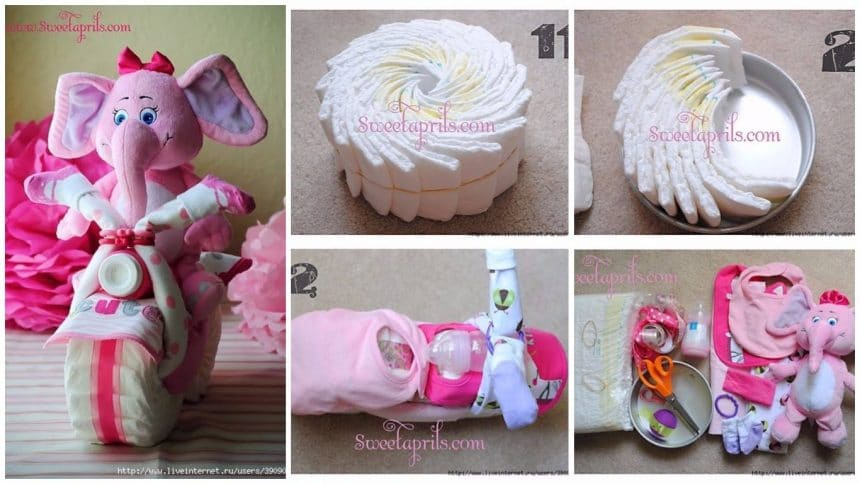 How to make a gift for a newborn