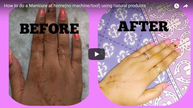 How to do a manicure at home using natural products