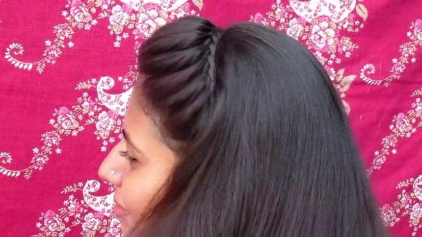 How To Do Simple Headband Hairstyle Simple Craft Ideas