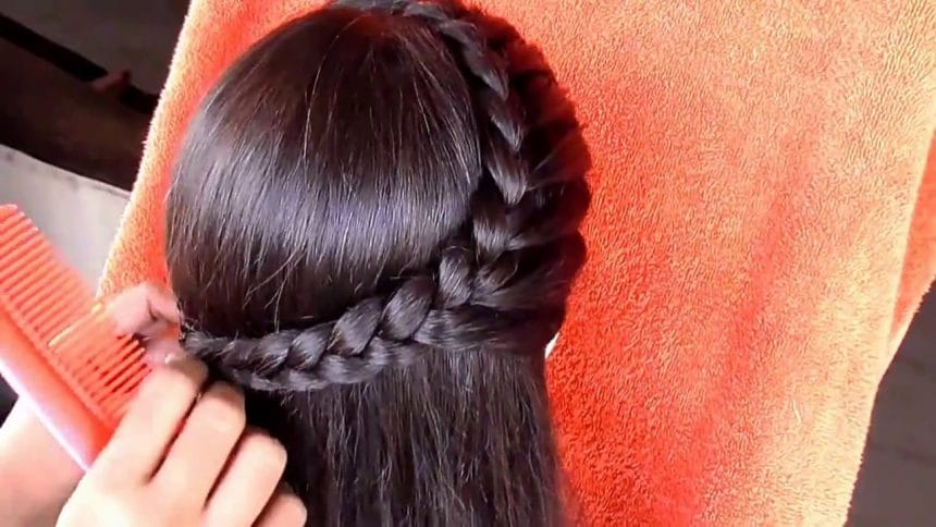 Hairstyle For Medium Hair Simple Craft Ideas
