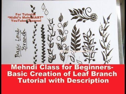 Mehndi Class For Beginners Simple Craft Ideas