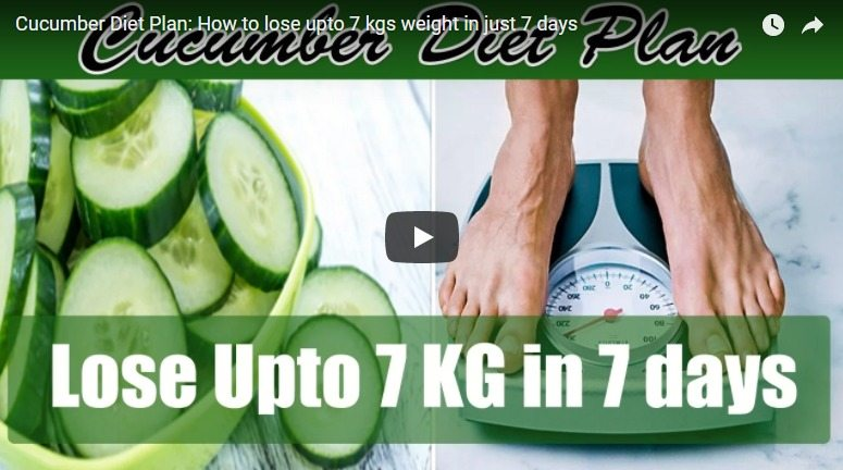 Cucumber diet plan: How to lose upto 7 kgs weight in just 7 days