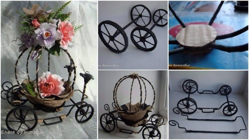 How to make a carriage in a fairy tale