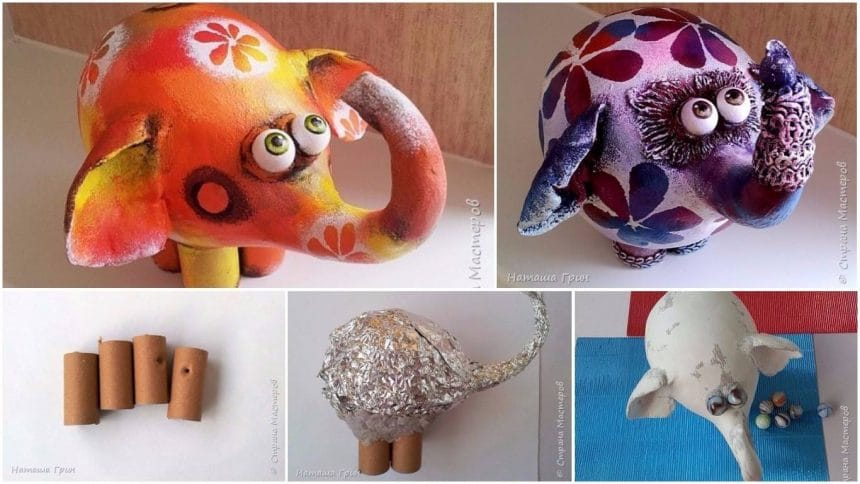 How to make interior elephants