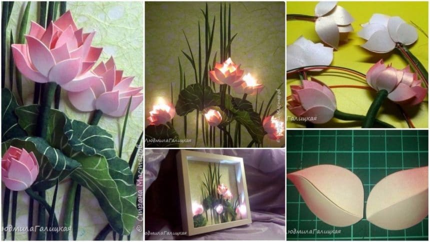 lotus flower lamp