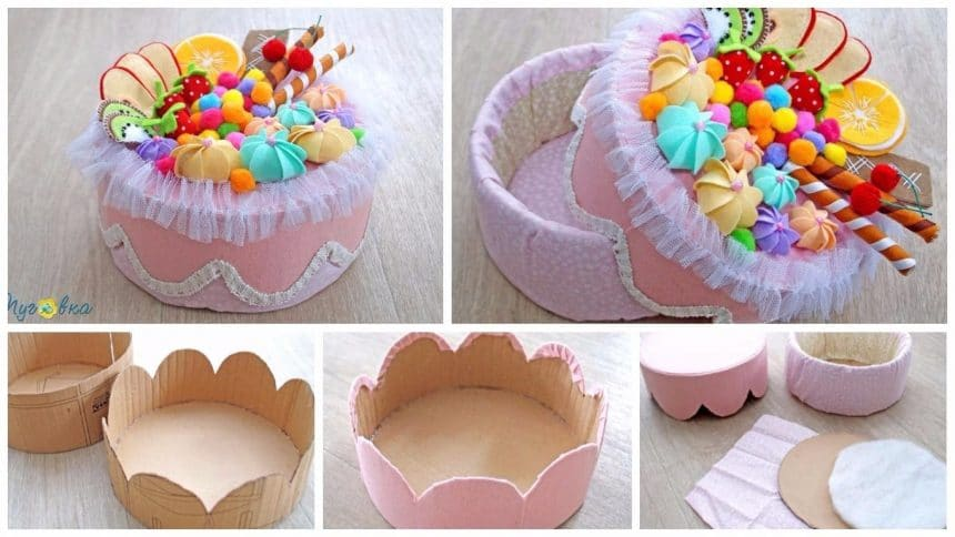 How to make a 'cake box'