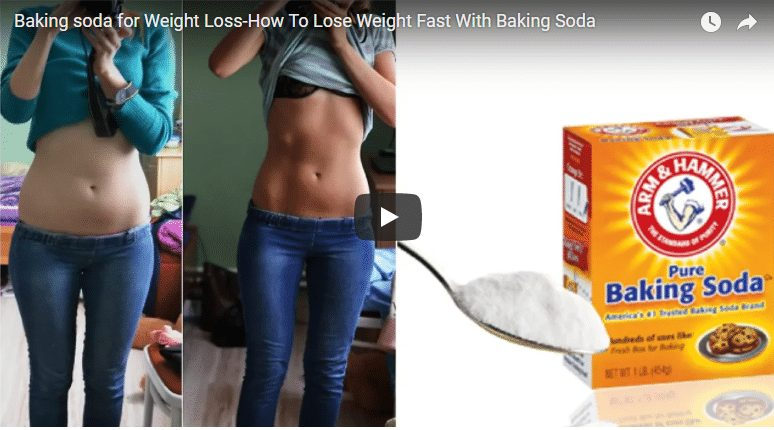 How to lose weight fast with baking soda