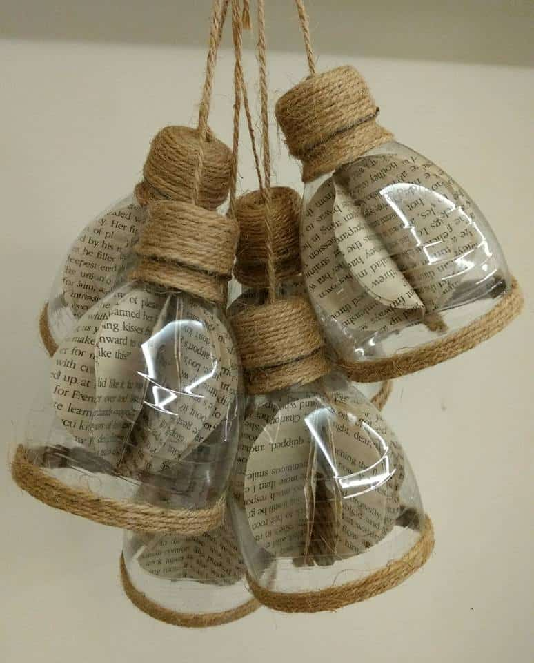 How To Make Decorative Hanging From Bottle Simple Craft