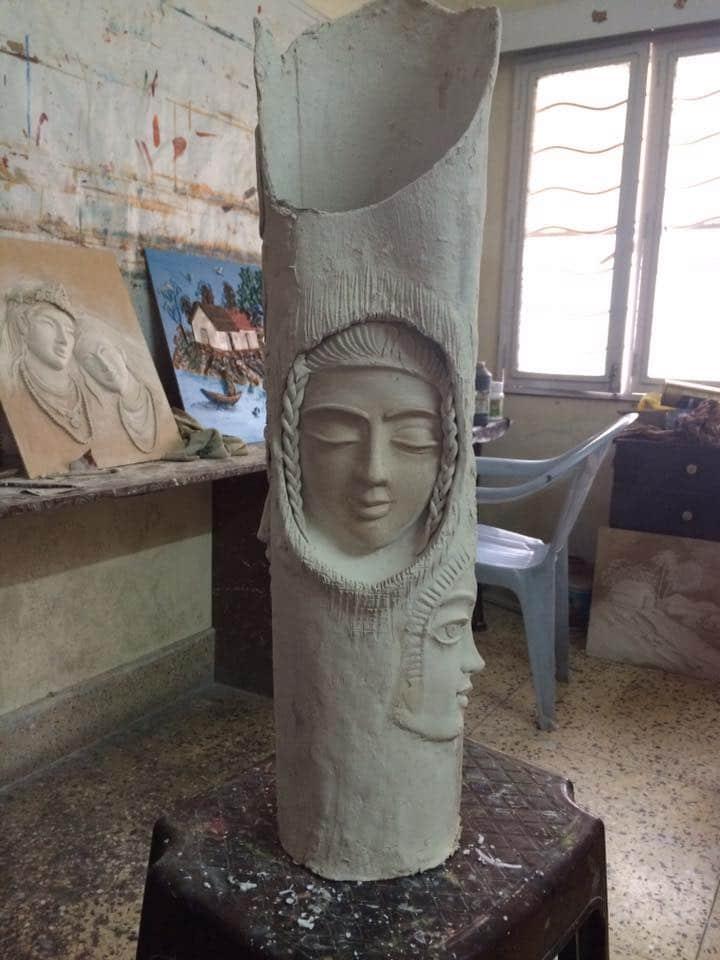 mural clay art