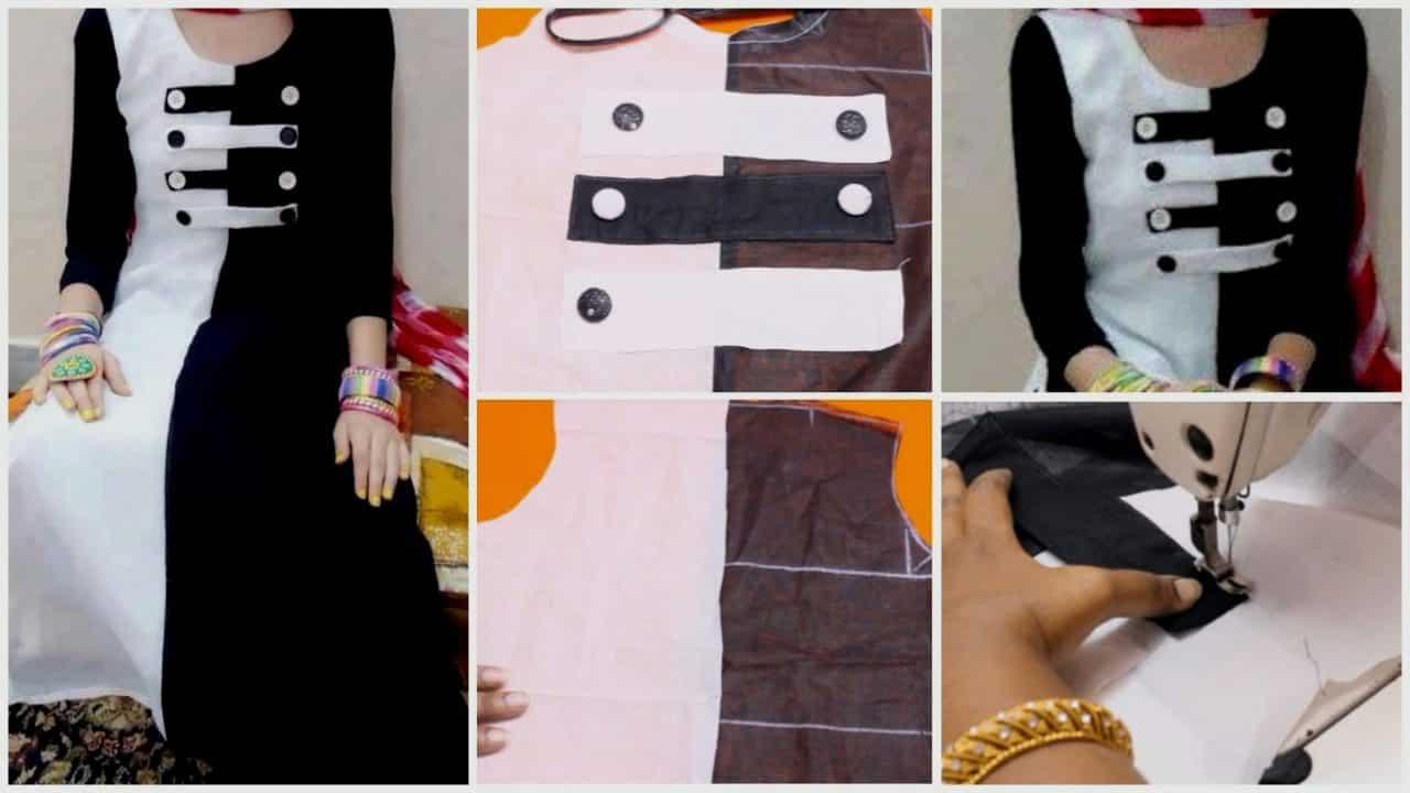 Kurti Design Simple And Easy Method Simple Craft Ideas