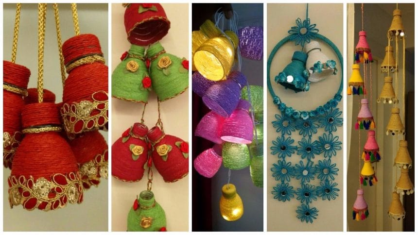 How to make decorative hanging from bottle