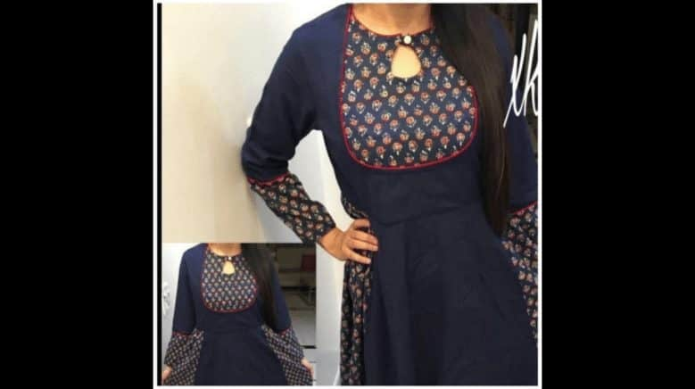 Kurta neck designs cutting and stitching - Simple Craft Ideas