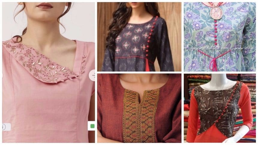 Trending kurti designs in india today