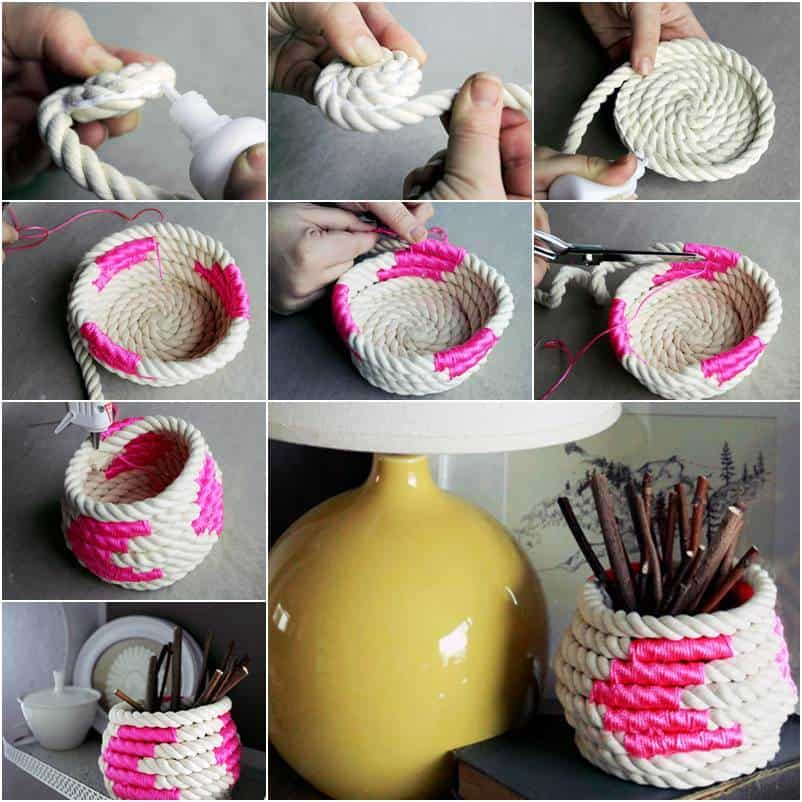 34 Fantastic Diy Home Decor Ideas With Rope: 101 Different Types Craft Tutorial