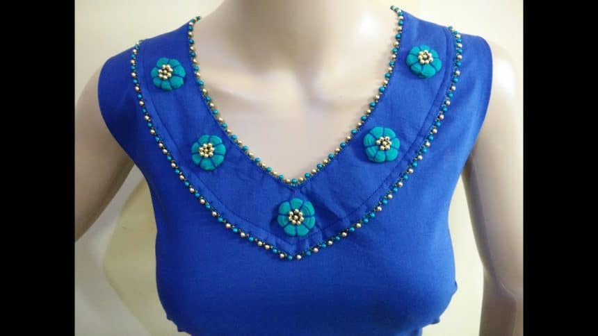 Kurta Neck Design Cutting And Stitching Simple Craft Ideas