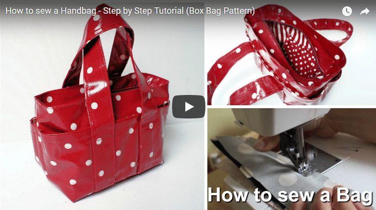 How to sew a handbag