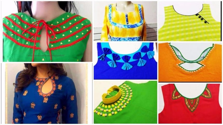 How To Make Designer Kurti At Home