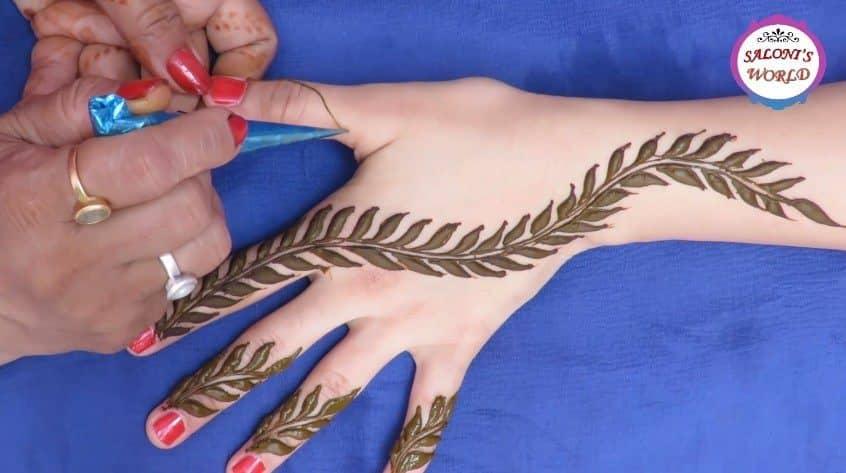 Simple Arabic Henna Mehndi Designs Simple Craft Ideas
