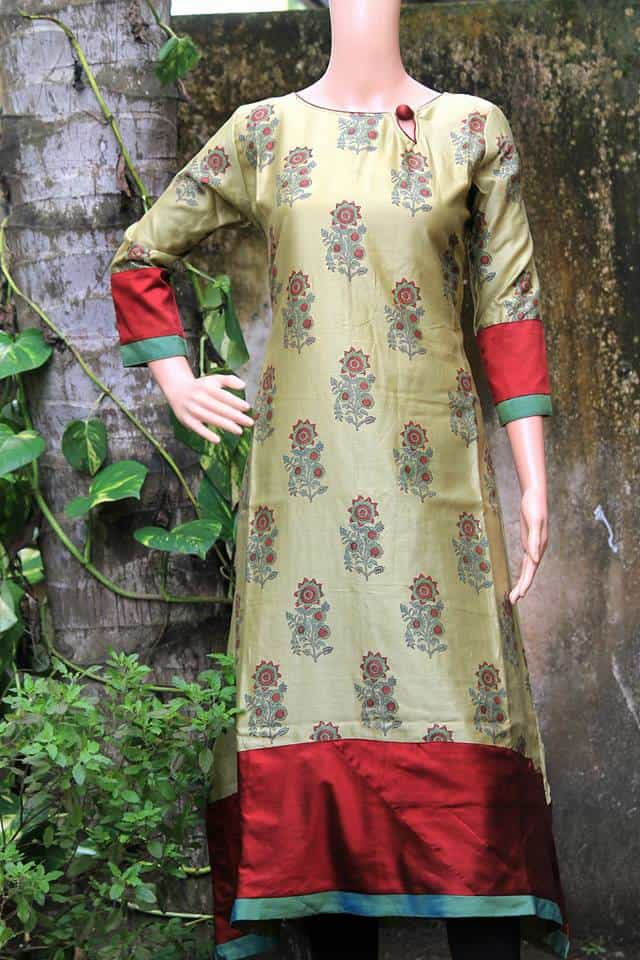 stylish and trendy kurti neck designs