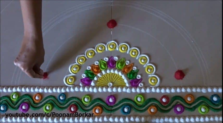 diwali special multicoloured semi