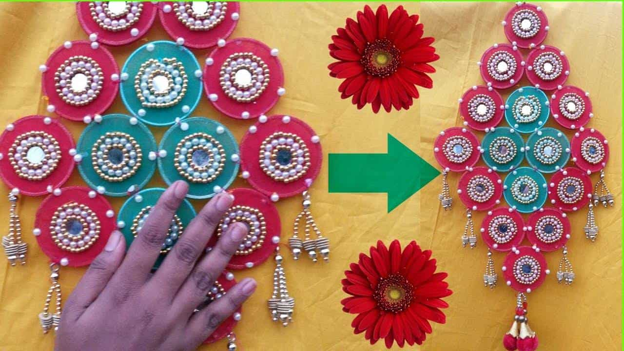 wall decoration craft ideas how to make wall hanging simple craft ideas 5693