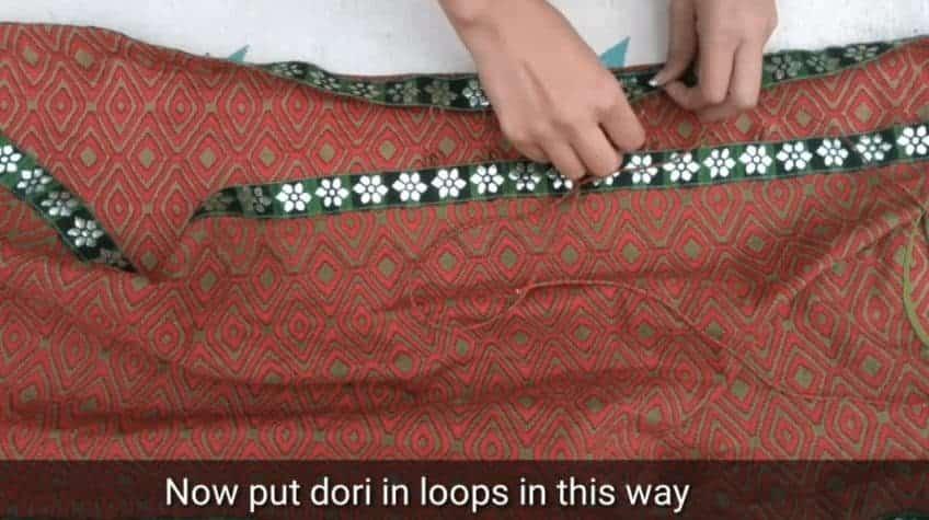 Double layer kurta