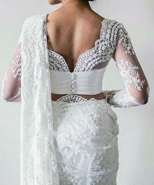 blouse neck designs lace border image of blouse and pocket