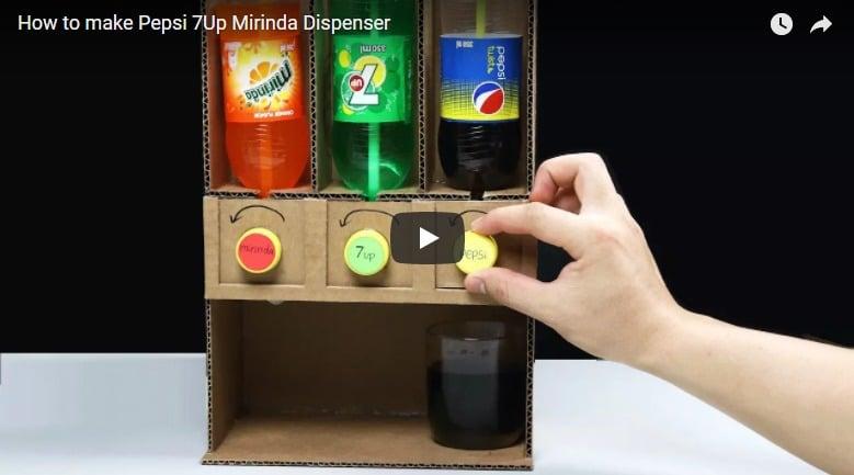 How to make pepsi,7up and mirinda dispenser