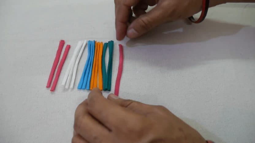 very beautiful fabric tassels