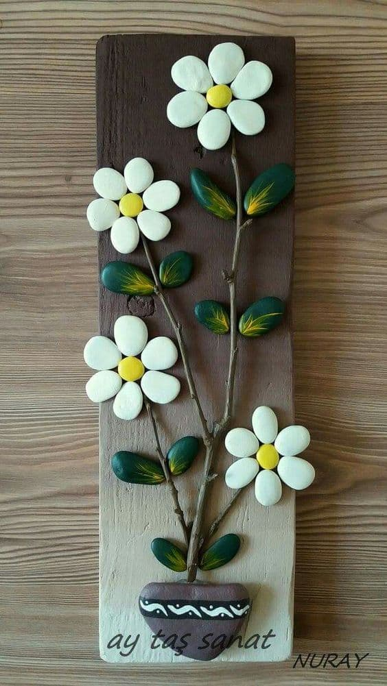Awesome painted pebble art ideas simple craft ideas - Adornos decorativos para el hogar ...