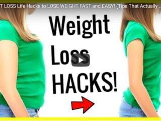 weight loss life hacks
