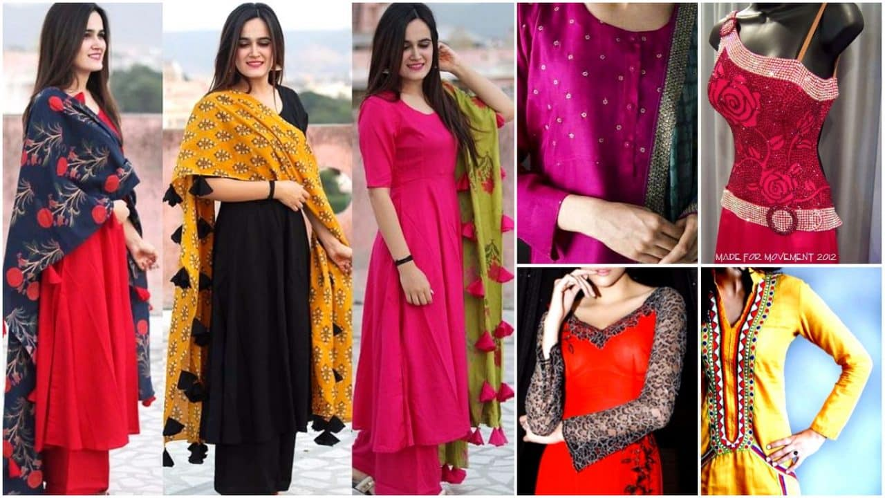 The fashion trend of kurtis