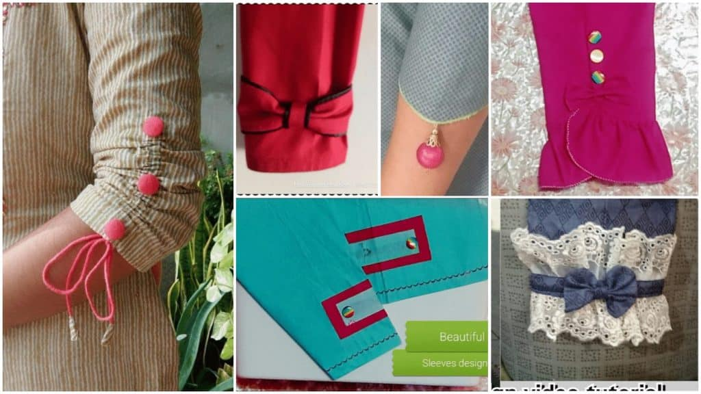 Sleeves design cutting and stitching easy method