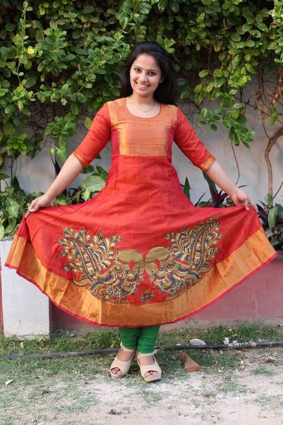 latest kurti designs patterns