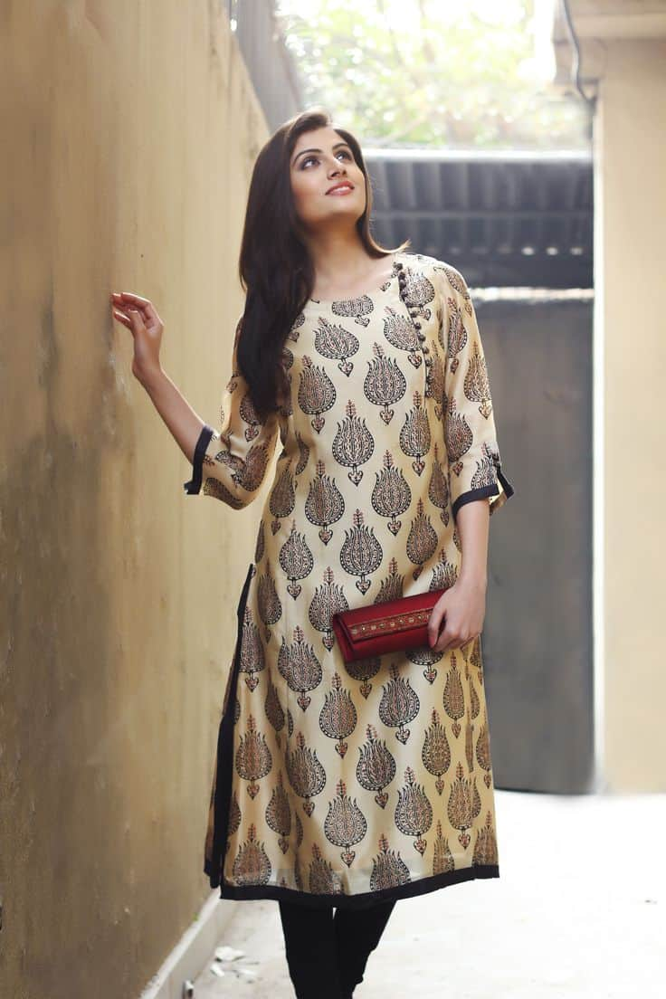 Beautiful Ladies Kurtis Latest Designs Simple Craft Ideas