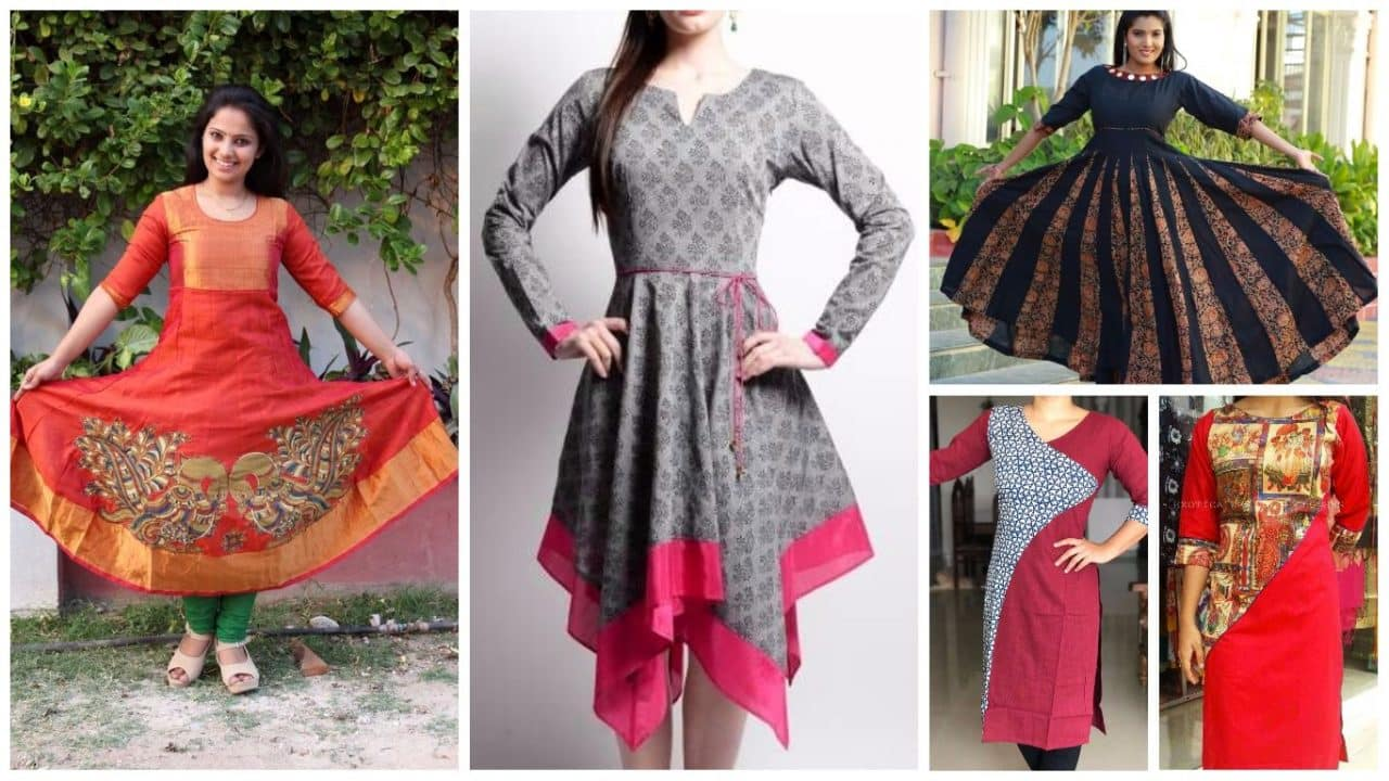 Latest kurti designs patterns