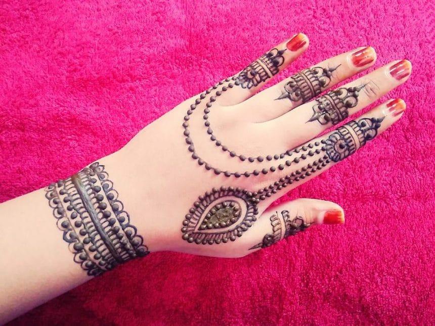 Jewellery mehndi
