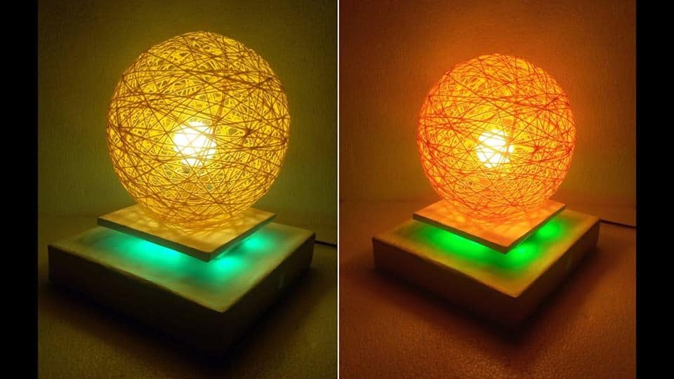 How to make a homemade pendent Lamp
