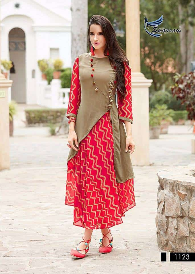 designer kurti cutting and stitching full tutorial