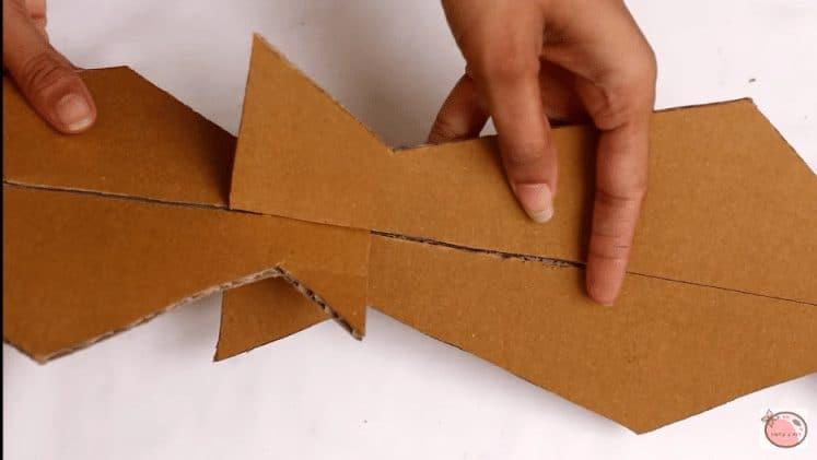 How To Make Flower Vase From Cardboard Artsycraftsydad
