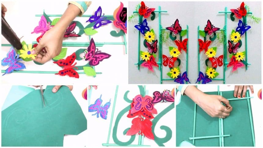 Home Decoration With Paper Craft