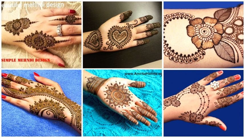 How to apply most attractive henna for marriage