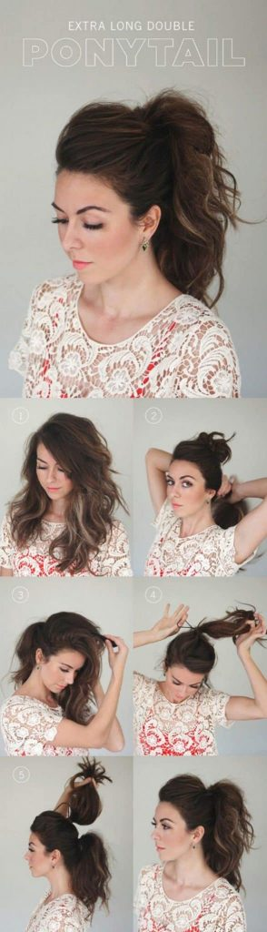 11 Step By Step Puff Hairstyle Tutorials Simple Craft Ideas