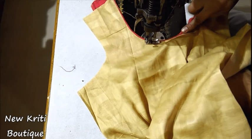 Very beautiful and simple neck design for kurti