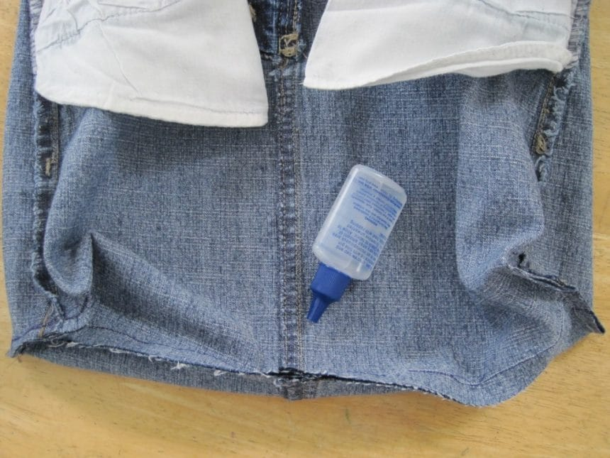 denim skirt handbag