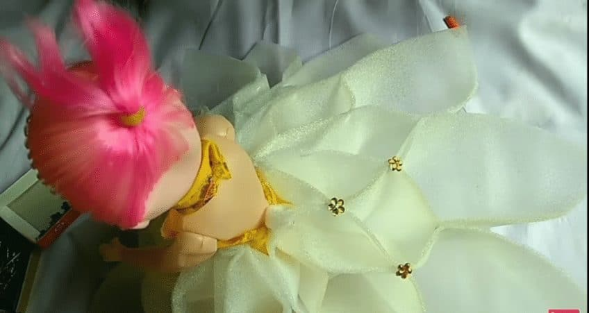 How to make the decorative doll